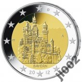 zberateľský predmet Nemecko 2012 - 2 € p  vyrobil albrechtzvaltic