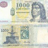tovar 1000 Forint Millenni  vyrobil borivoj