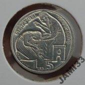 tovar Vatikán 5 líry 1975  vyrobil borivoj