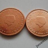 zberateľský predmet Holandsko 2 cent 200  vyrobil borivoj