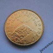 zberateľský predmet Slovinsko 50 cent 20  vyrobil borivoj