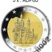 náhľad k tovaru Nemecko 2012 - 2 € p