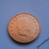 zberateľský predmet Luxembursko 2 cent 2  vyrobil leopold4