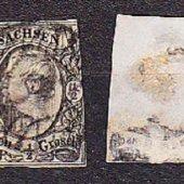 zberateľský predmet SACHSEN 1855, razená  vyrobil leopold4