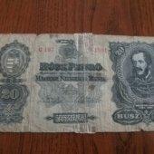 tovar 20 pengő 1930  vyrobil jrac