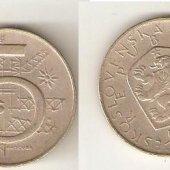 náhľad k tovaru 5 Kčs 1969