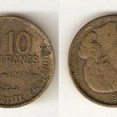tovar 10 franc 1951  vyrobil svatopluk