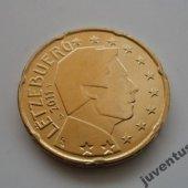 zberateľský predmet Luxembursko 20 cent   vyrobil svatopluk