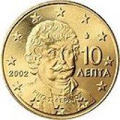 zberateľský predmet Grécko - 10.cent 200  vyrobil svatopluk