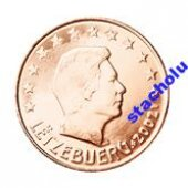 tovar Luxembursko - 5.cent  vyrobil korvin