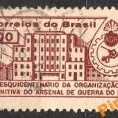 tovar Brazília - Mi. 1004  vyrobil korvin