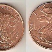 tovar Golden State Mint (1  vyrobil korvin