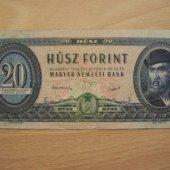 tovar Madarsko 20 Forint    vyrobil korvin