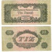 tovar Tíz pengő 1946  vyrobil korvin