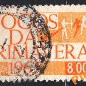 tovar Brazília - Mi. 1046  vyrobil korvin