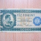 tovar Madarsko 10 Forint    vyrobil korvin