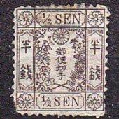 zberateľský predmet JAPONSKO 1874, nepou  vyrobil korvin