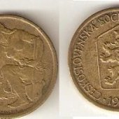 predmet 1 Kčs 1976  od lotrinsky