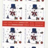 tovar čista známka Vianočn  vyrobil lotrinsky