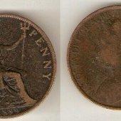 predmet one penny 1899  od lotrinsky