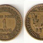 predmet 1 franc 1922  od lotrinsky