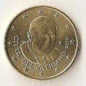 predmet 50 cent Vatikan 2011  od lotrinsky