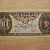 predmet Madarsko 50 Forint 1  od lotrinsky