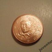 zberateľský predmet Francúzsko 5 cent 20  vyrobil hus