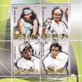 zberateľský predmet Rwanda, tenis, Nadal  vyrobil hus
